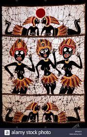 indonesian batik wall art