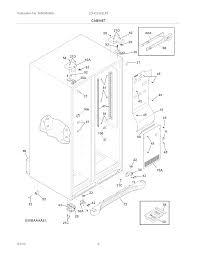 Fridge wiring diagram manual fresh frigidaire refrigerator parts model lghc2342lf0