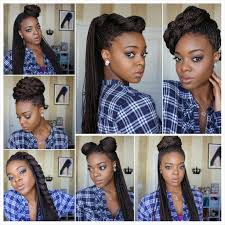 Box Braids Hair Style styling box braids 7 ways video box braids box and galleries 3106 by wearticles.com