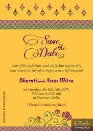 Kards Creative Indian Wedding Invitations Caricature Traditional