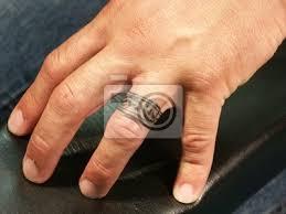 Fototapeta Tetování Am Prst