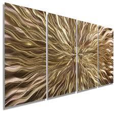 copper static metal wall art painting by jon allen