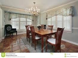 ... dining room spanish engaging with floor tiles royalty free stock images  furniture in leather chairs colonial ...