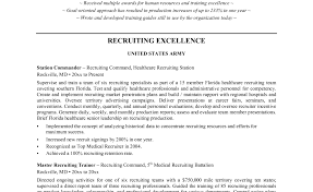 Recruiter Resume Templates Skills Based Resume Template Employment