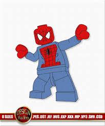 Optimus Prime Embroidery Design Spider Man Embroidery Design Lego Super Heroes Machine