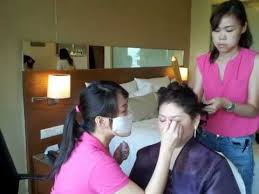 makeup artist on call wedding makeup service on job training
