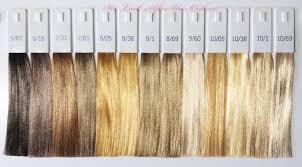 Wella Koleston Perfect Hair Color Chart Lajoshrich Com