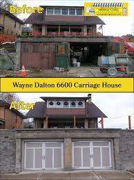 garage door opener calgary inspirational wayne dalton 6600 carriage house steel doors white and almond color