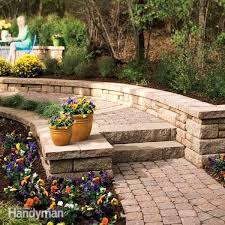 how to build stone steps and path diy
