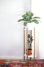 view in gallery diy two tiered plant stand