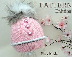 Baby Hat Pattern Best Knitting PATTERN Baby Hat Baby Beanie Knitting PATTERNS Baby
