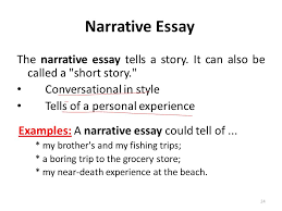 lecture essay writing ppt video online  24 narrative