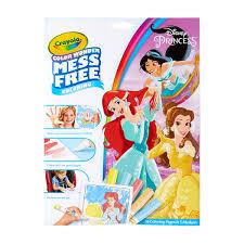 Crayola Color Wonder Disney Princess Coloring Pages Mess Free