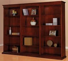 office furniture shelves. Bookcases Triple Bookcase Set With Adjustable Shelves Office Surprising Picture Concept Furniture M