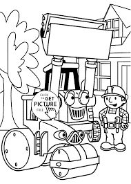 Small Picture and tractors coloring pages for kids printable free Bob the builder