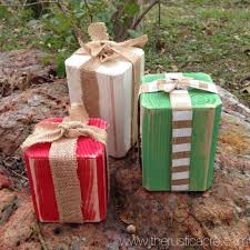 Wooden Presents | Rustic Christmas | The Rustic Acre | College ...