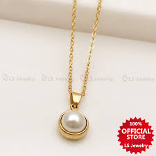 ls jewelry opal crystal necklace for women las gold opal 1
