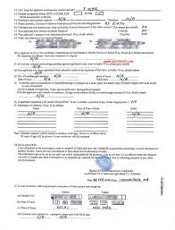 renew n minor passport in usa by post bls step by step sample minor passport application form page 2