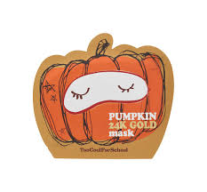 Pumpkin <b>24K Gold Mask</b>(50% OFF) – Too Cool For School US