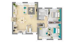neuvilière maison moderne à demi niveau
