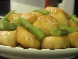 Teriyaki Scallops Recipe - Low ...