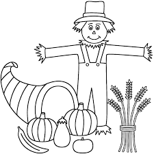 Small Picture Free Printable Scarecrow Coloring Pages For Kids With itgodme
