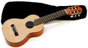 yamaha ukulele. yamaha gl1 guitalele guitar ukulele with gig bag