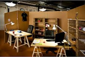 cardboard office furniture. Exellent Furniture We Especially Like This Impromtu Cardboard Office Designed By Paul Coudamy  Who Cleverly Used Corrugated As Walls And Shelves More  In Cardboard Office Furniture R