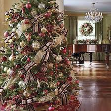 Outstanding Traditional Christmas Trees Decorated 22 With Additional Best  Interior with Traditional Christmas Trees Decorated
