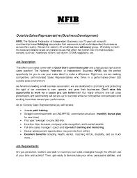 Sales Job Description Bravebtr