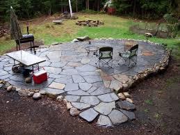 loose flagstone patio. Loose Flagstone Patio