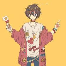Aesthetic Yellow Anime Girl - Anime ...