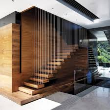 transparent wall panels. Classy Images Of Cool Staircase Design : Interesting Home Interior And Decoration Using Floating Oak Transparent Wall Panels