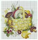 Вышивка крестом гриб бесплатные схемы