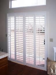 sliding door blinds