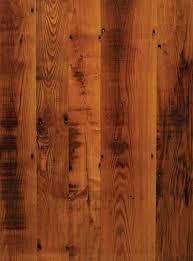Reclaimed chestnut skip-planed for character from Longleaf Lumber.