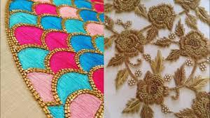Latest Embroidery Designs Latest Embroidery Designs For Saree Kurta Salwar Suit Moti