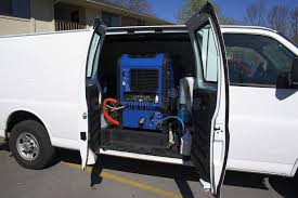 carpet cleaning van 2 stock image image of extraction 583443