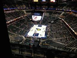 Bankers Life Seating Chart Bankers Life Fieldhouse Section 216 Home Of Indiana Pacers