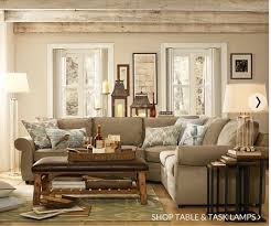 Pottery Barn Living Room Designs Awesome Decoration