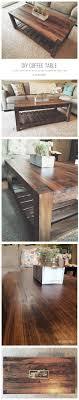 20 Easy \u0026 Free Plans to Build a DIY Coffee Table   Diy coffee ...