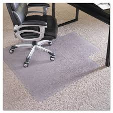 chair mat with lip. ES Robbins 36x48 Lip Chair Mat Performance Series AnchorBar For Carpet Up To 1 Inches With 4