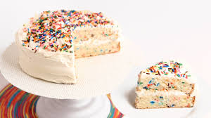 Confetti Birthday Cake Recipe Laura Vitale Laura In The Kitchen