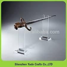 Sword Display Stands 100' Height Acrylic Sword Display Knife Cane Fishing Reel Display 23
