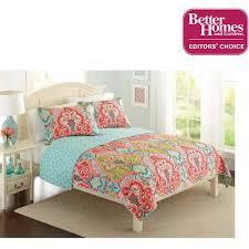 better homes and garden bedding. Fine Better Better Homes And Gardens Jeweled Damask Bedding Quilt Collection   Reversible Walmartcom On And Garden Walmart