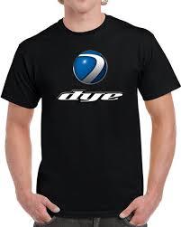 Dye Paintball Size Chart Dye Paintball Logo Shirt Paintball Apparel Accessories