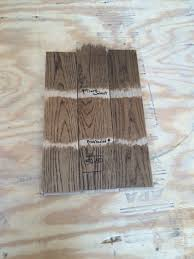 Mixing Wood Stains Minwax Stain Color Study Classic Grey Special Walnut Driftwood