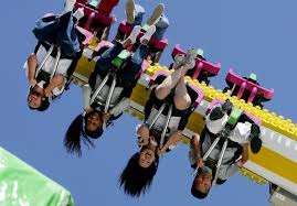 Image result for down a roller coaster