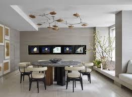 Mid Century Modern Dining Room Glass Light Chrome Polished Modern