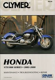 research claynes honda vtx1800 2002 2008 service repair manual m230 230 230b